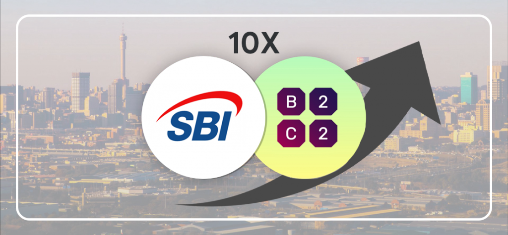 SBI's Daily Volume Increase 10x Following Partnership with B2C2
