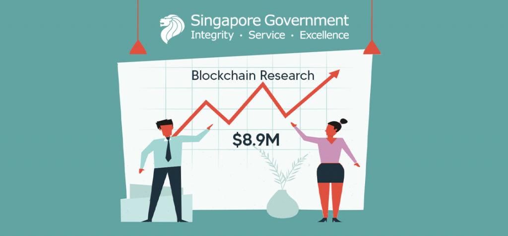 Singaporean Government to Invest $8.9 Million Into Blockchain Research