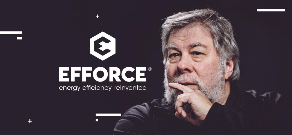 Steve Wozniak Launches Crypto Energy Efficiency Startup 'Efforce'