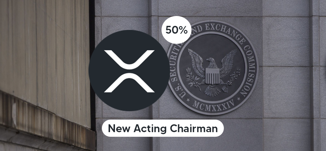 XRP Rallies 50%, Following Appointment of New Acting Chairman by SEC