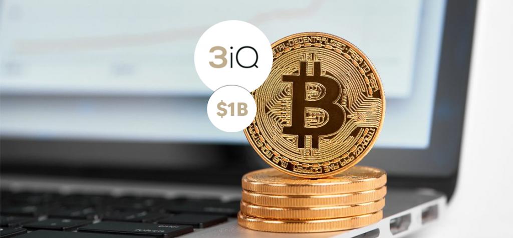 3iQ's Bitcoin Trust Reaches $1B in Total Volume of AUM