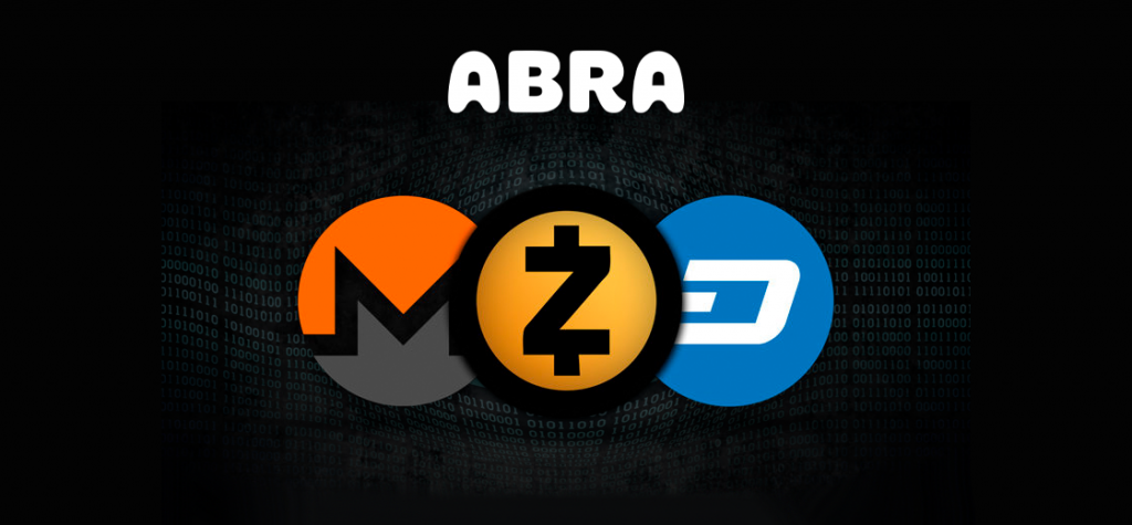 Abra Global to Delist Privacy Coins Monero, Zcash, Dash