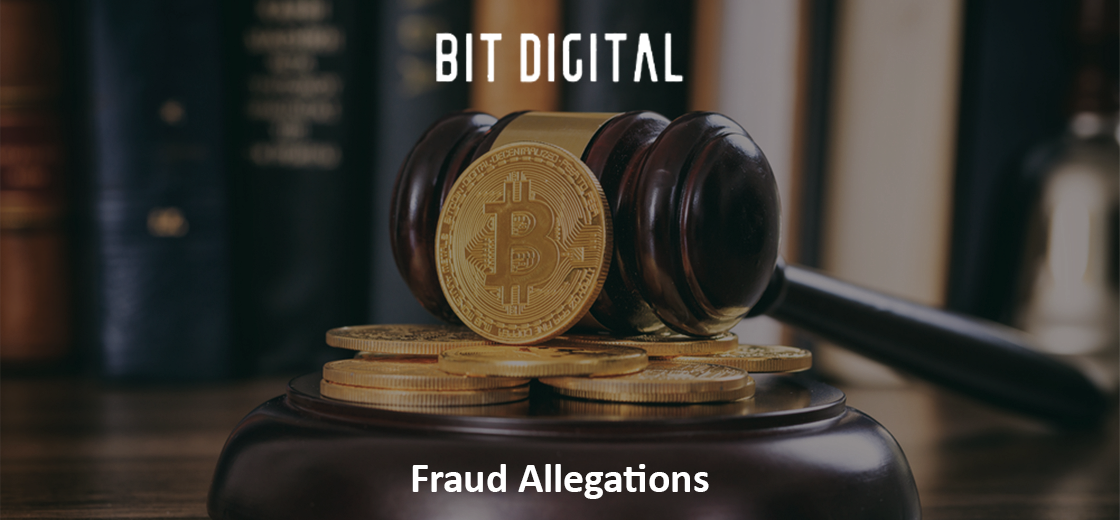 Bitcoin Miner Bit Digital Faces Class-Action Lawsuit Over Fraud Allegations