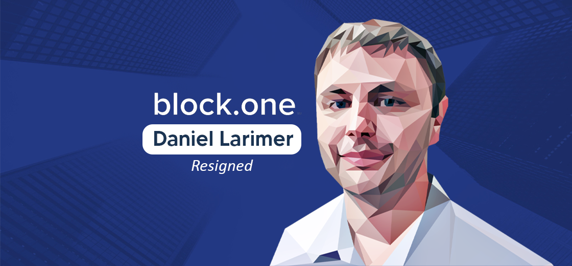 Block.one CTO and Co-Founder Daniel Larimer Announces Resignation