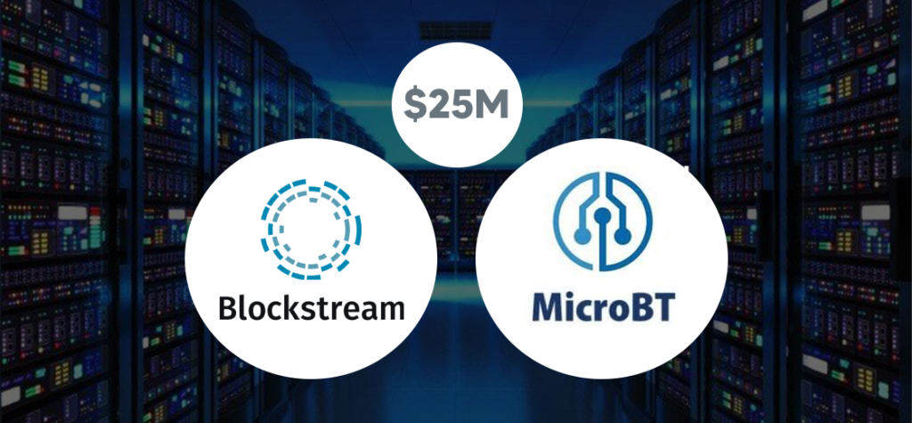 Blockstream Buys Mining Machines of $25M from MicroBT