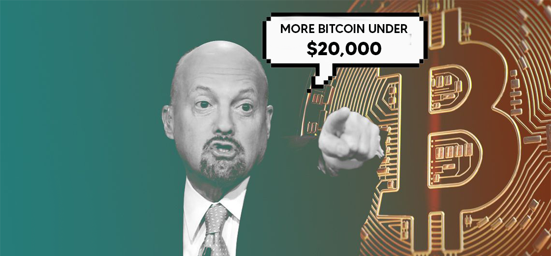 CNBC's Jim Cramer Says He Will Buy More Bitcoin Under $20,000