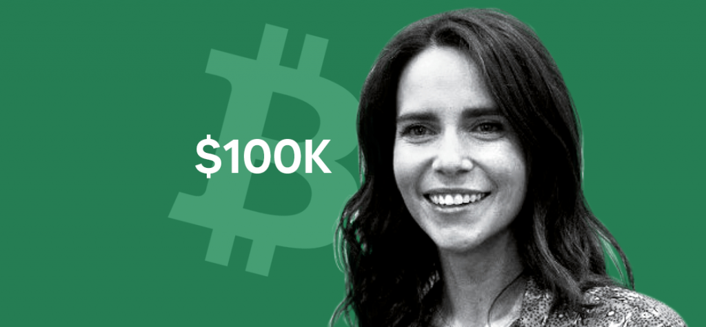Catherine Coley Believes Bitcoin Could Reach $100K by 2021
