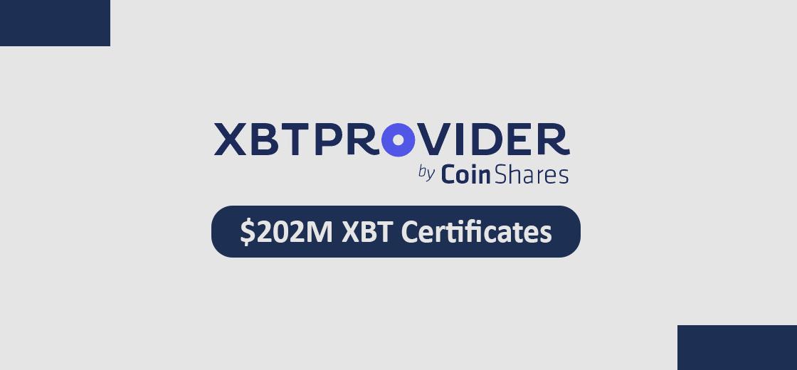 CoinShares XBT Provider ETPs Record Trades $202M Worth Volume