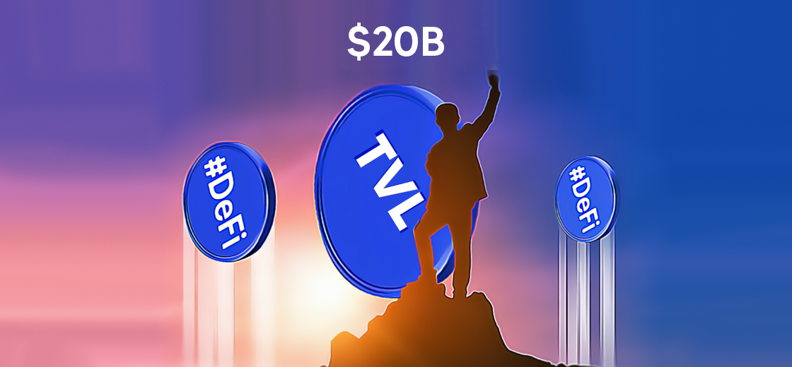 DeFi TVL Reaches $20B Despite Huge Ethereum Withdrawals