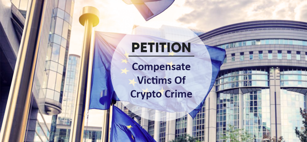 EU Parliament Receives Petition to Compensate Victims of Crypto Crime