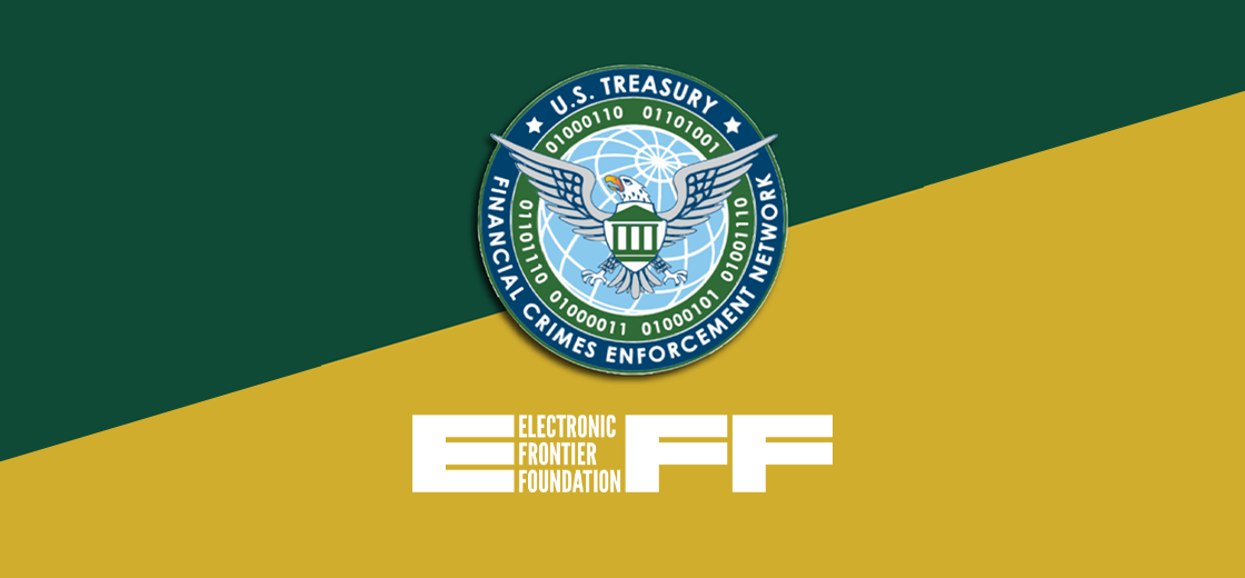 Electronic Frontier Foundation Comments on FinCEN's Crypto Regulations