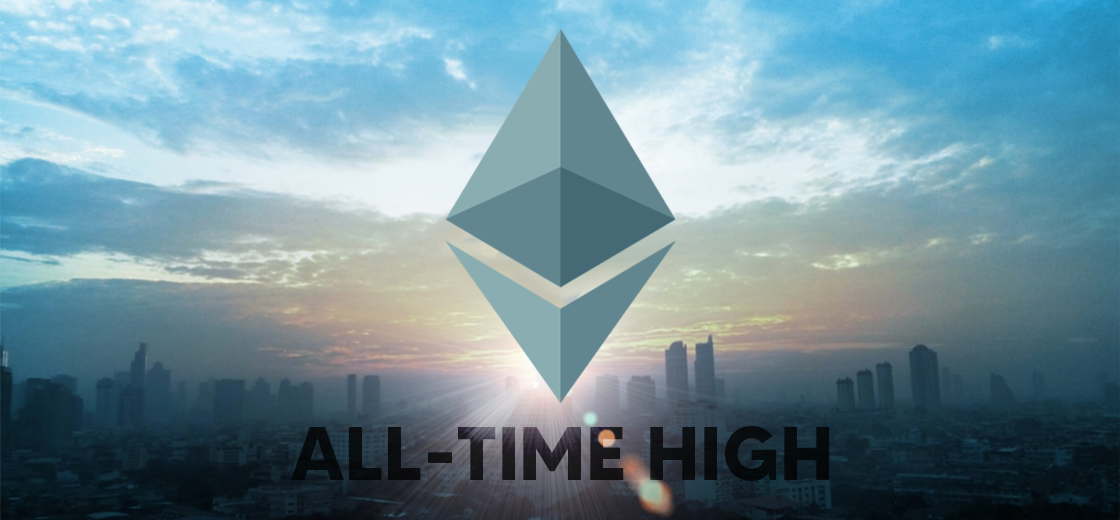 Ethereum Investors Makes Largest Withdrawal, Sets New All-Time High