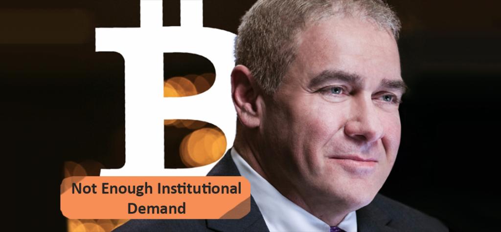 Guggenheim CIO Says Bitcoin Not Having Enough Institutional Demand