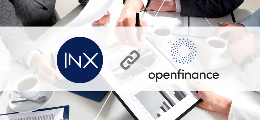 INX Announces Acquisition of OpenFinance Is Almost Complete