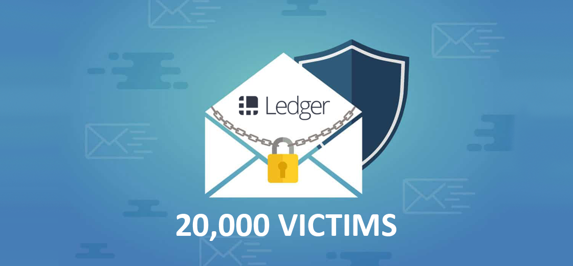 Ledger Users Receive Email Threats Following 20,000 Leaked Records