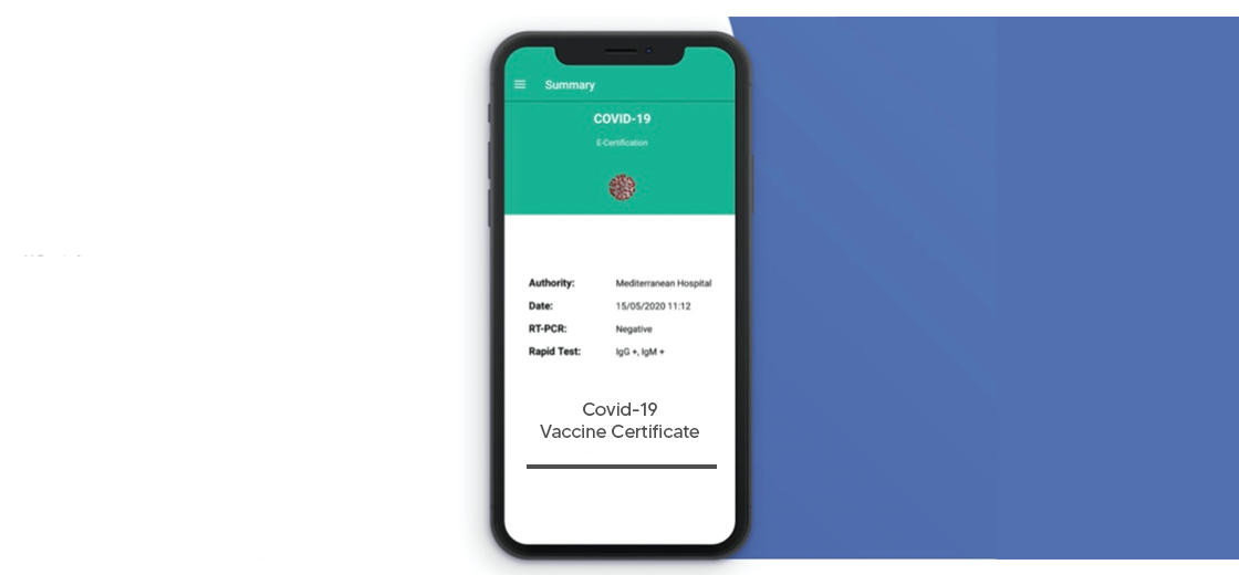Mediterranean Hospital Gives COVID-19 Vaccine Certificate Through E-HCert App