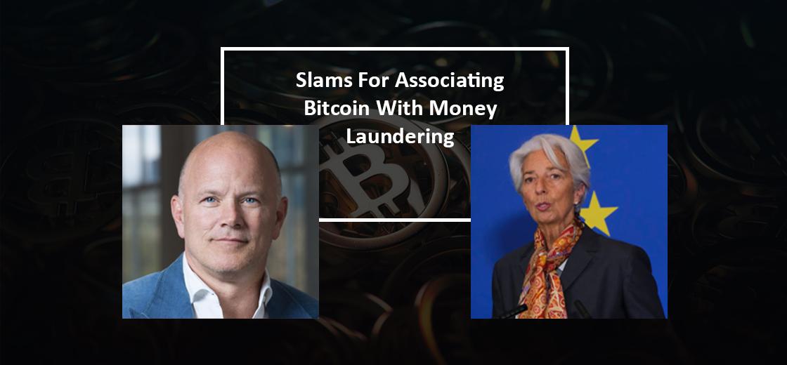 Novogratz Slams ECB Chief for Associating Bitcoin with Money Laundering