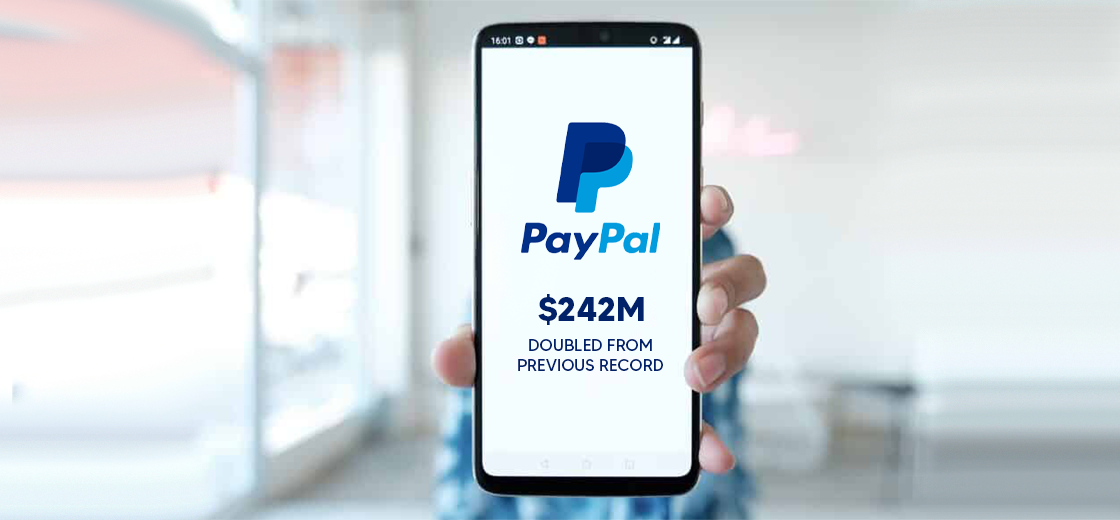 PayPal Records $242M in Crypto Trading, Doubles Its Previous Record
