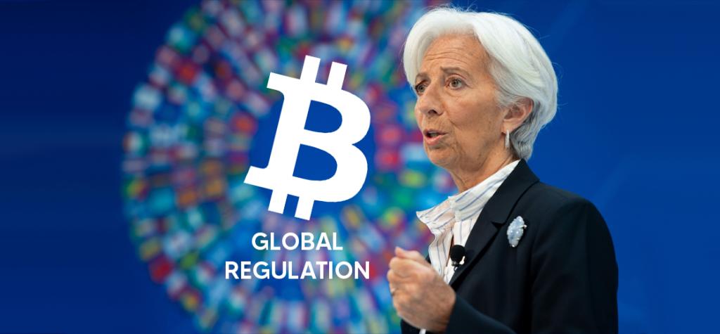 ECB President Christine Lagarde Says Bitcoin Needs Global Regulation