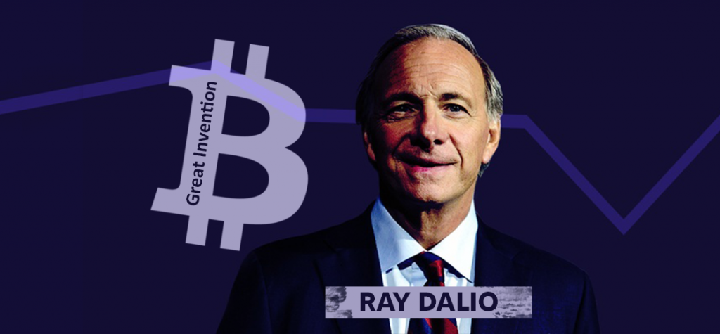 Ray Dalio Seems Interested in Bitcoin, Calling It Great Invention