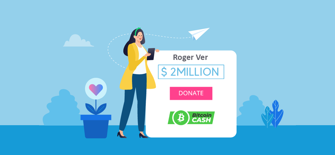Roger Ver Donates $2M in BCH to Support FEE's Work