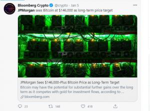 JPMorgan BTC Price Prediction