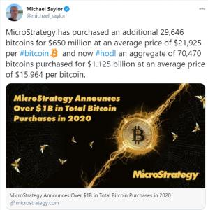 MicroStrategy Bitcoin Purchase