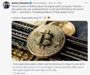 Bitcoin to $50,000