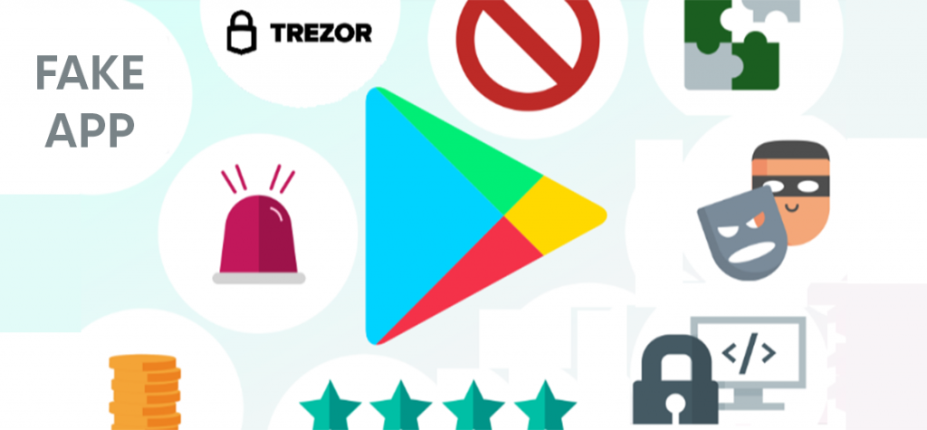 Trezor Warns Users About a Fake App on the Google Play Store
