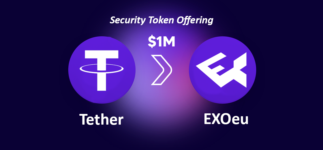 Tether Invests $1M in EXOeu Tokens for Security Token Offering