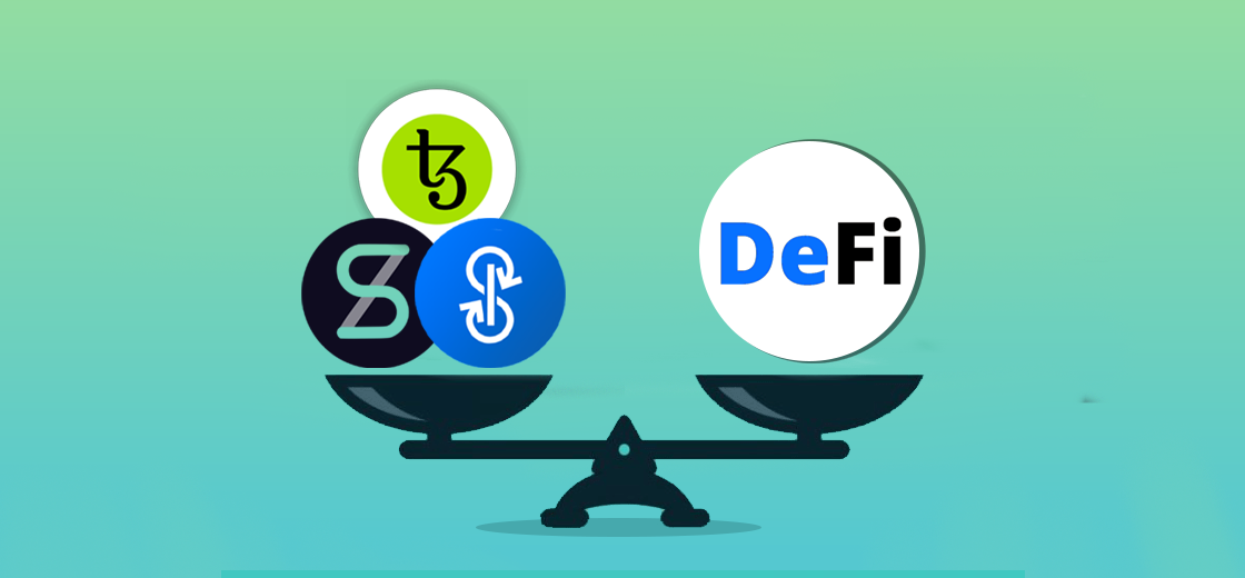 Top DeFi Revivals Includes Tezos, Synthetix, and Yearn.Finance