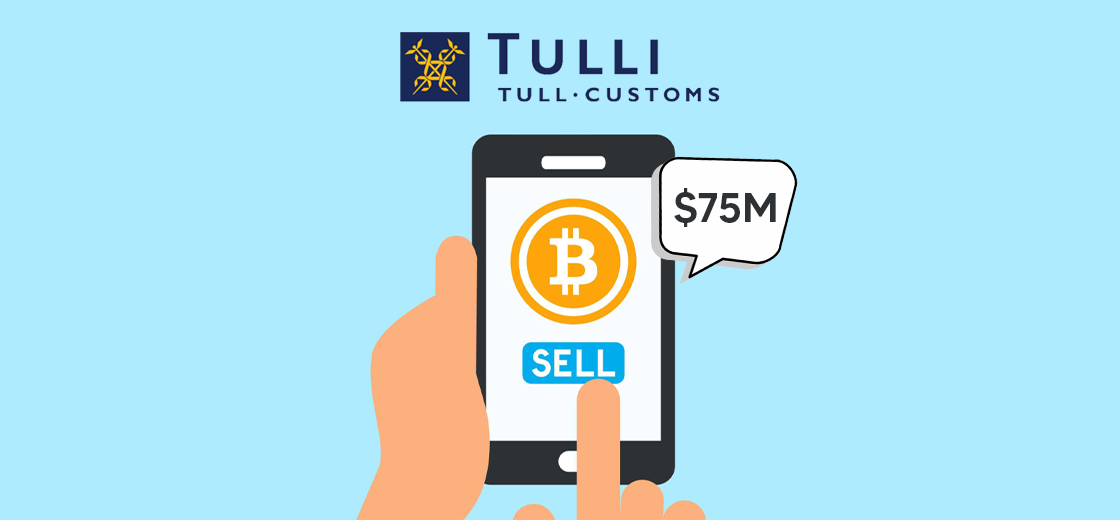 Tulli Looking to Sell $75M Worth Bitcoins After Recent Surge