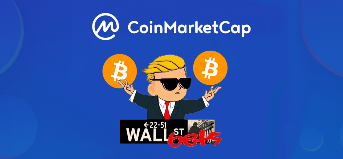 WallStreetBets Token Added on Top of Bitcoin by CoinMarketCap, Yet Another Joke