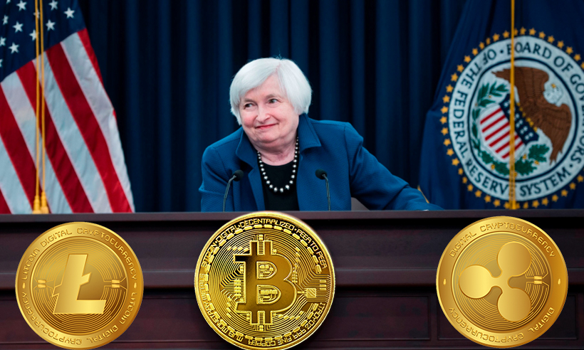 Janet Yellen Clarifies Her Take on Cryptocurrency with a Written Testimony