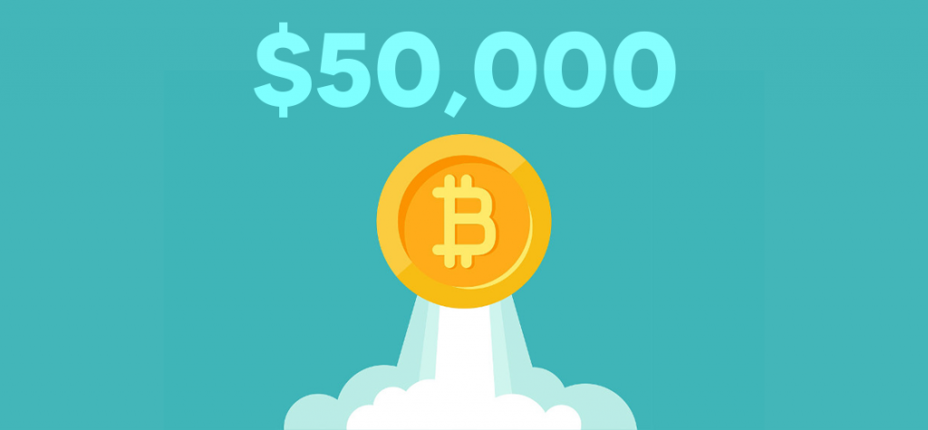 Bitcoin Smashes Through $50,000 for the First Time