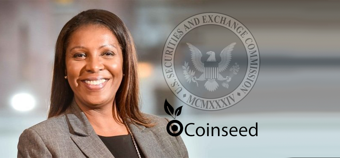 Coinseed Sued by New York Attorney General and SEC for Selling Worthless Tokens to Investors