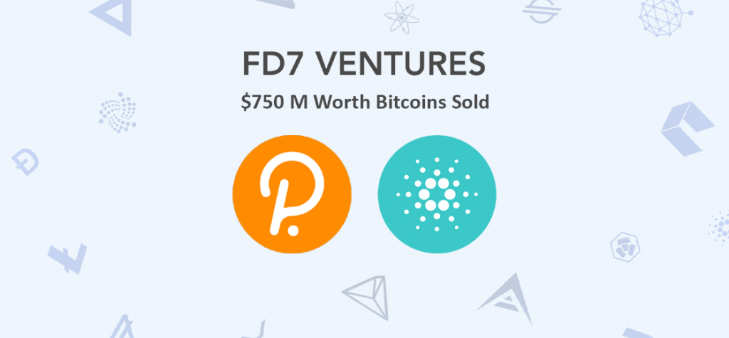 Dubai Crypto Fund FD7 Ventures to Sell $750 M Worth of Bitcoin to Invest in Polkadot, Cardano
