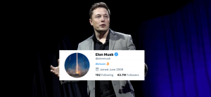Elon Musk Changes His Twitter Bio for Bitcoin