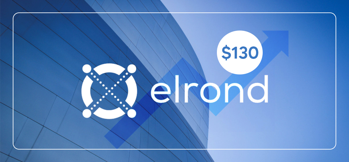 Elrond (EGLD) Cryptocurrency Hits a New Record High Above $130