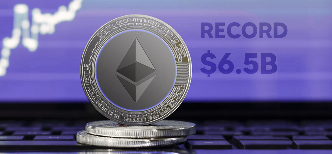 Ethereum Futures Open Interest Hits Record $6.5B as ETH Surge