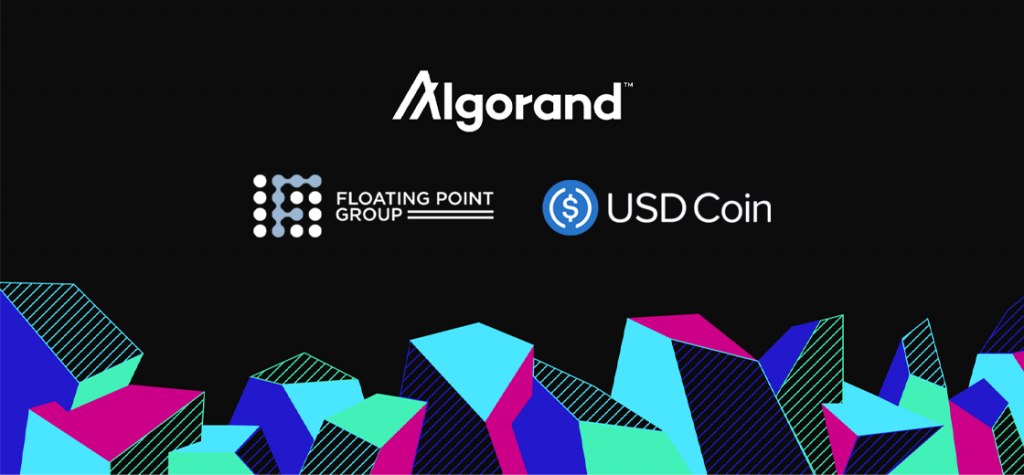 Floating Point Group Taps USDC Stablecoin on Algorand Blockchain