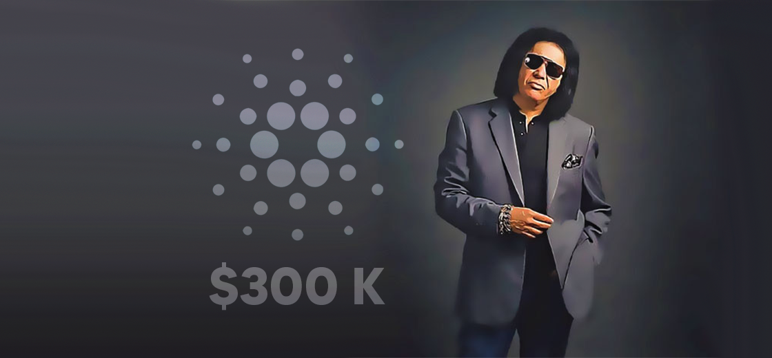 Gene Simmons Adds Cardano Worth $300K to his Bags