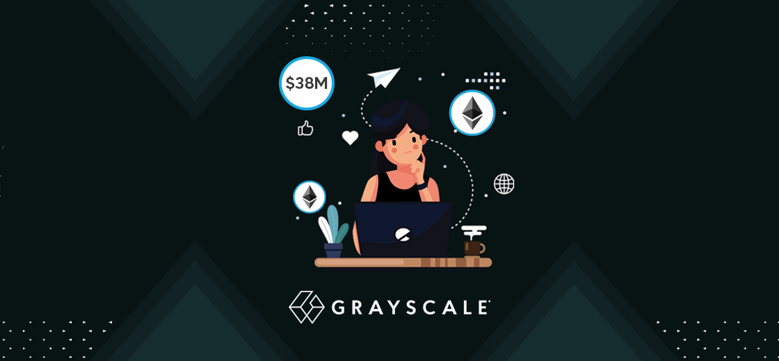 Grayscale Buys Ethereum Worth $38 Million as ETH Exceeds New ATH