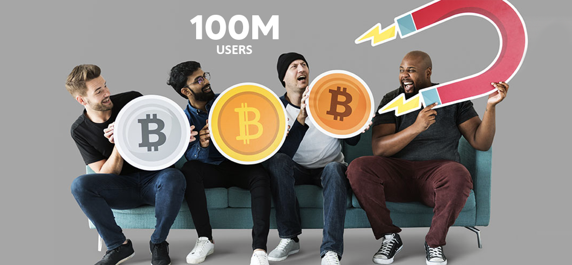 Over 100 Million Users Added to the Crypto Industry