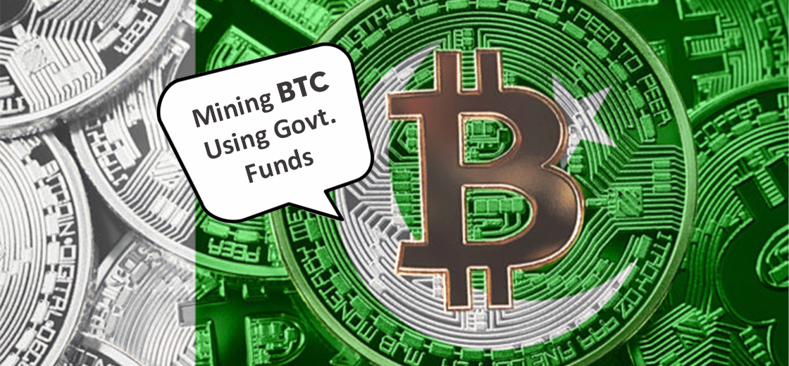 Pakistan Is Now Mining BTC Using Govt Funds