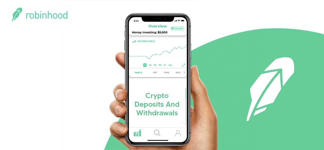 Robinhood Planning for Crypto Deposits and Withdrawals