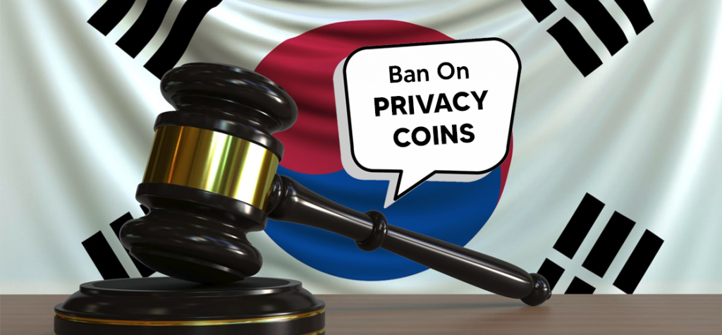 South Korea's Financial Regulator Confirms Ban on Privacy Coins