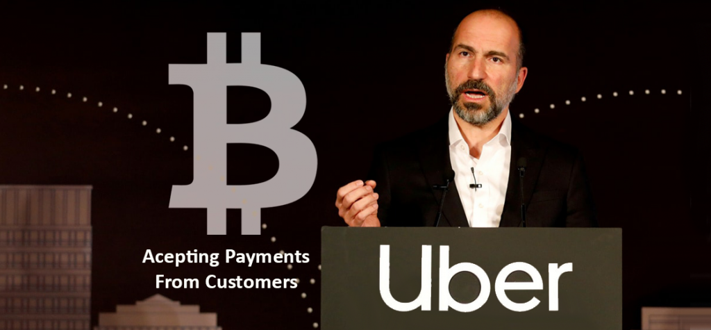 Uber Considers Accepting Bitcoin Payments from Customers