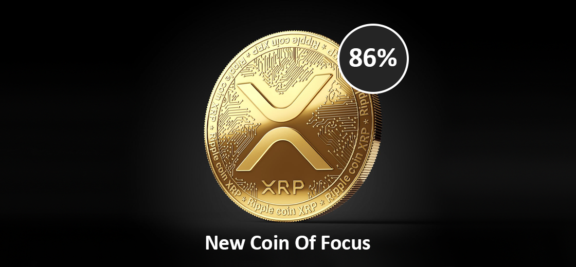 XRP Price Rallies 86% as Iit Became New Coin of Focus