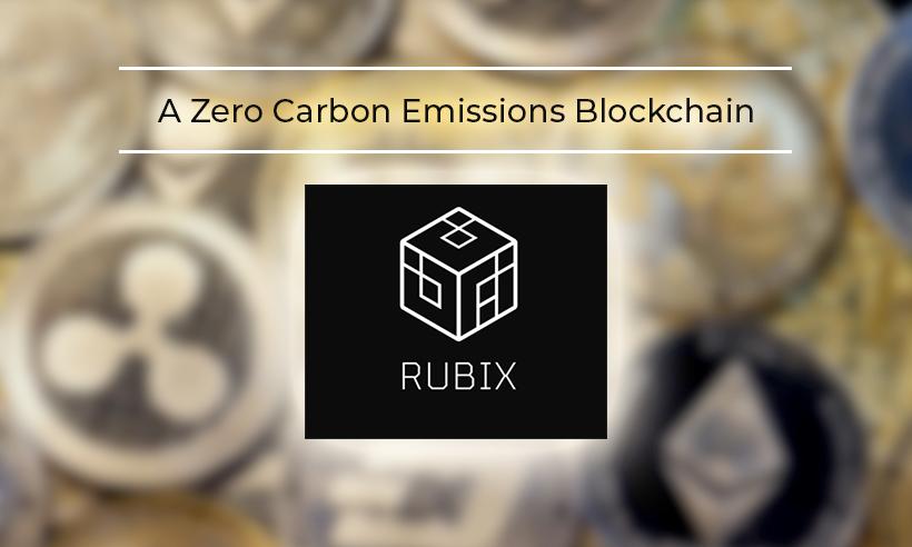 RubiX: A Zero Carbon Emission Blockchain